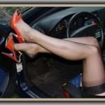 Статусы про девушек за рулем